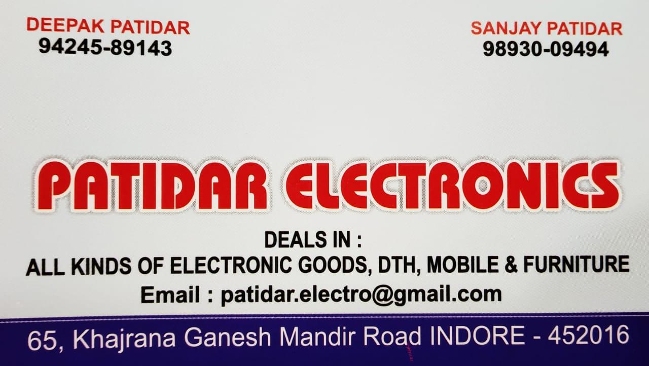 PATIDAR ELECTRONICS