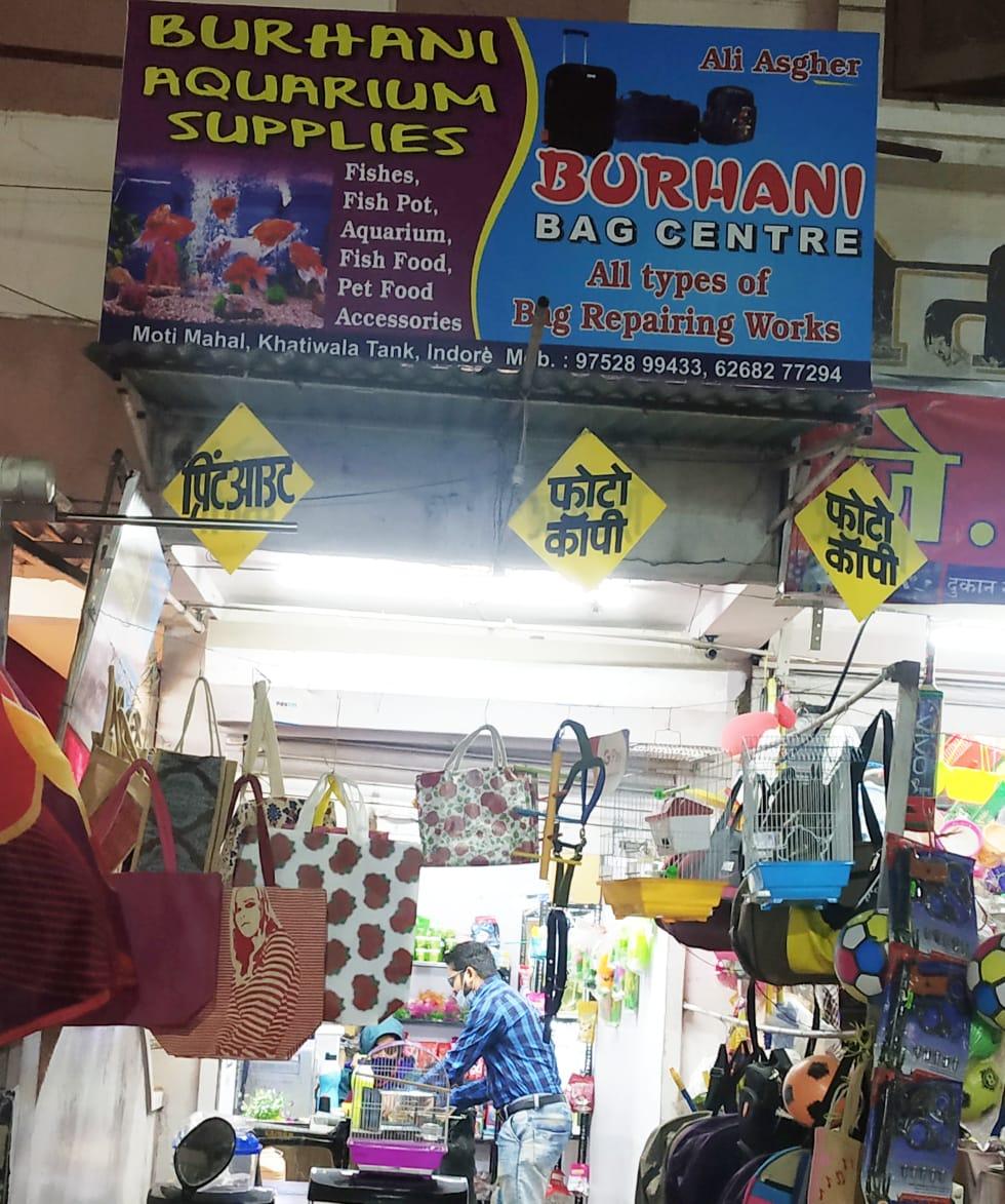 BURHANI AQUARIUM & BAG CENTER