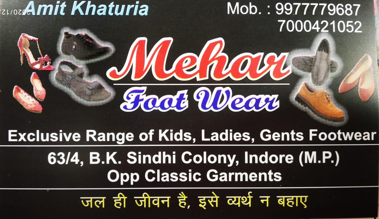 MEHAR FOOTWEAR