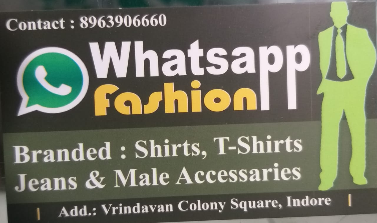 WhatsApp fashion