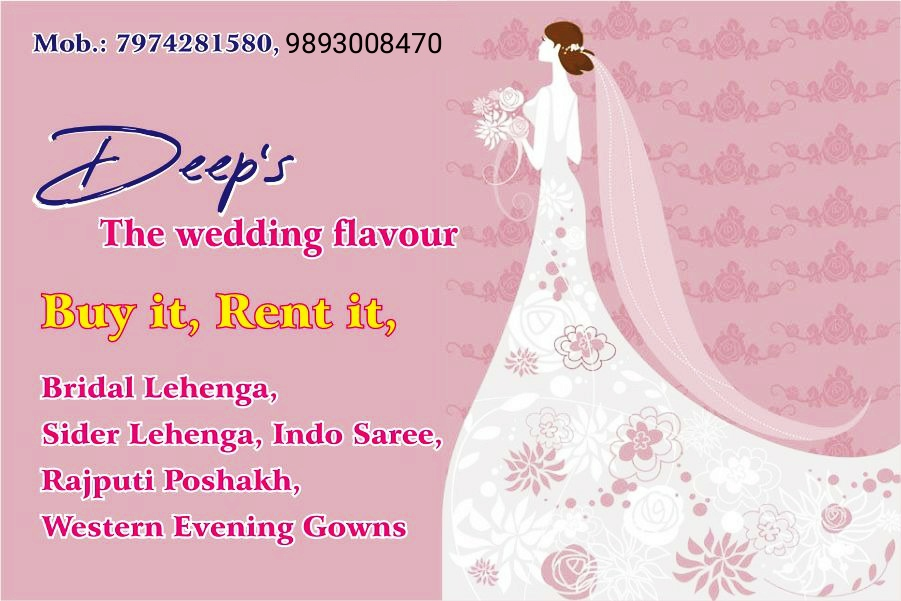 DEEP'S THE WEDDING FLAVOUR
