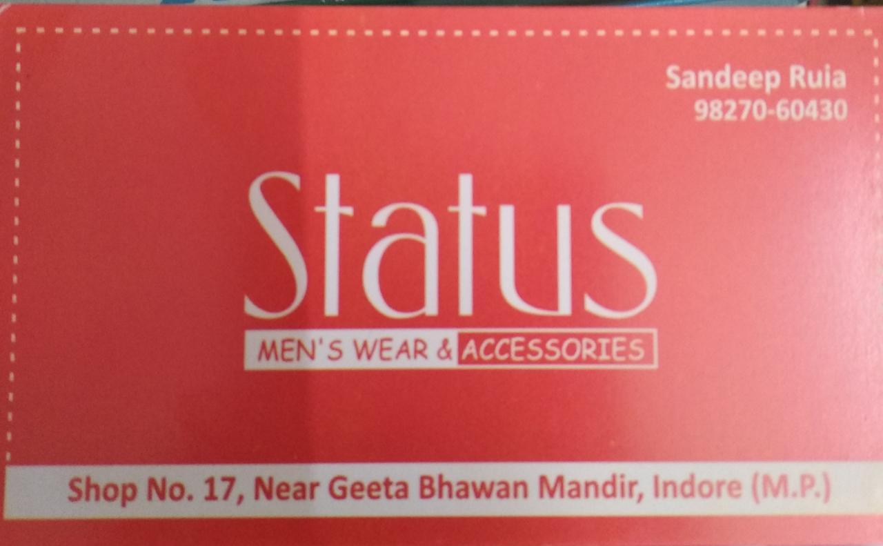 Status men's wear