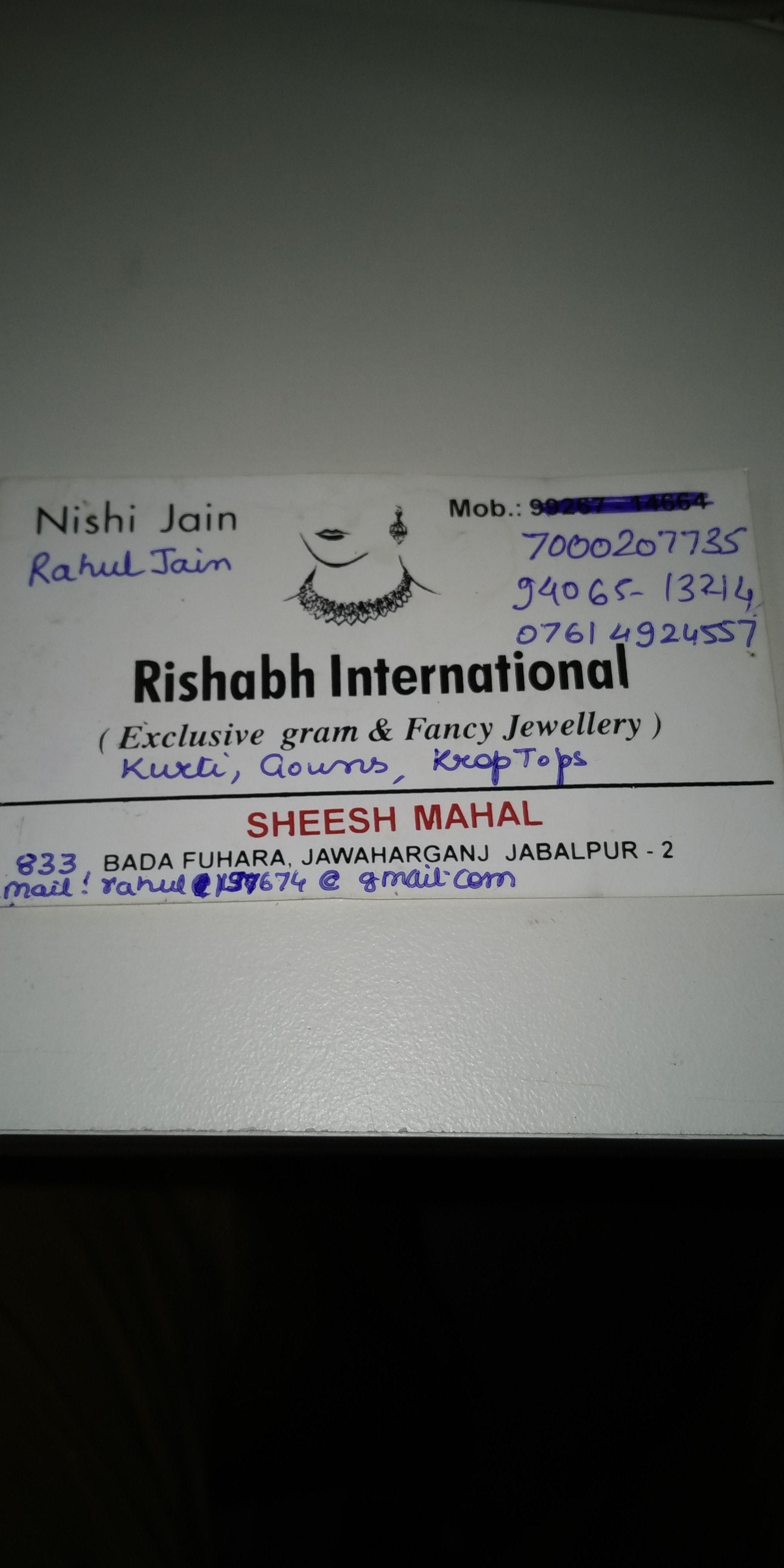 RISHABH international