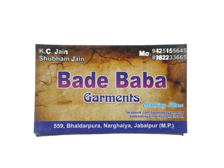 Shree bade baba garments