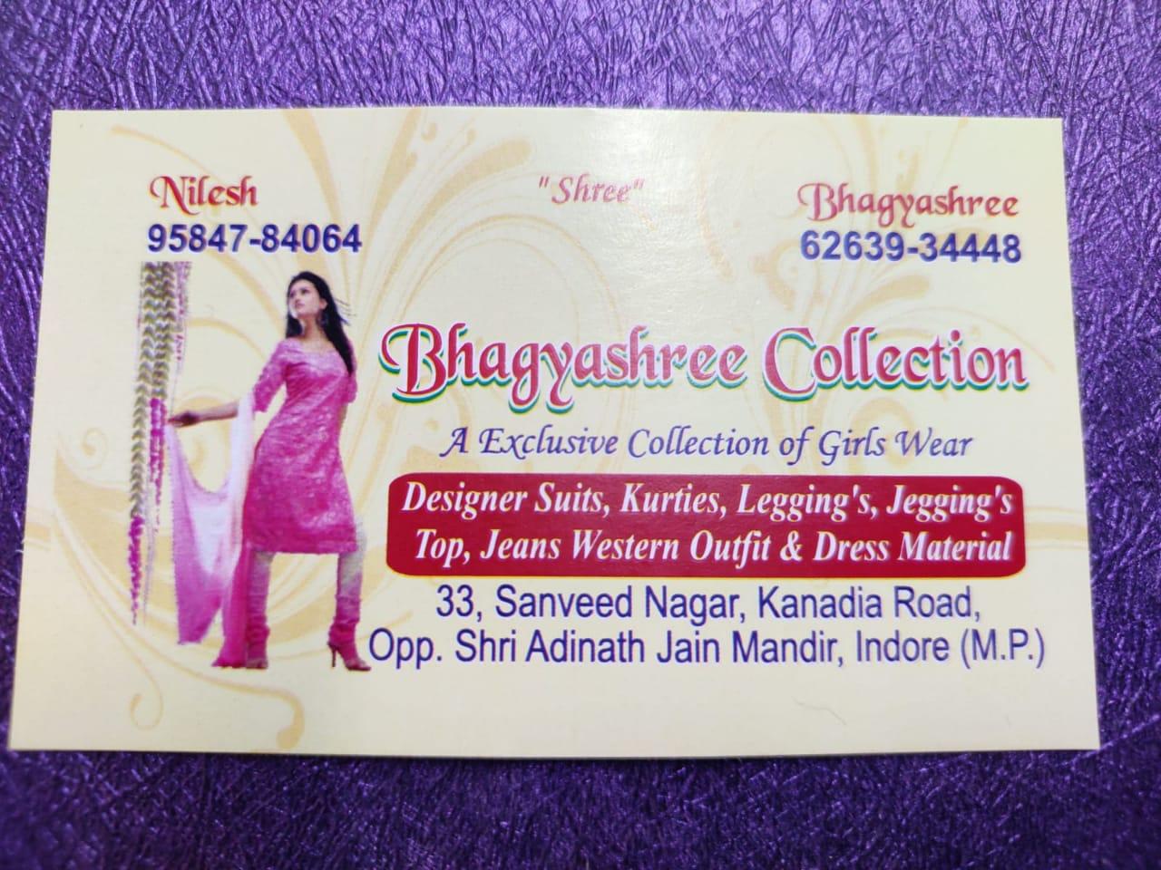 Bhaguashree collection