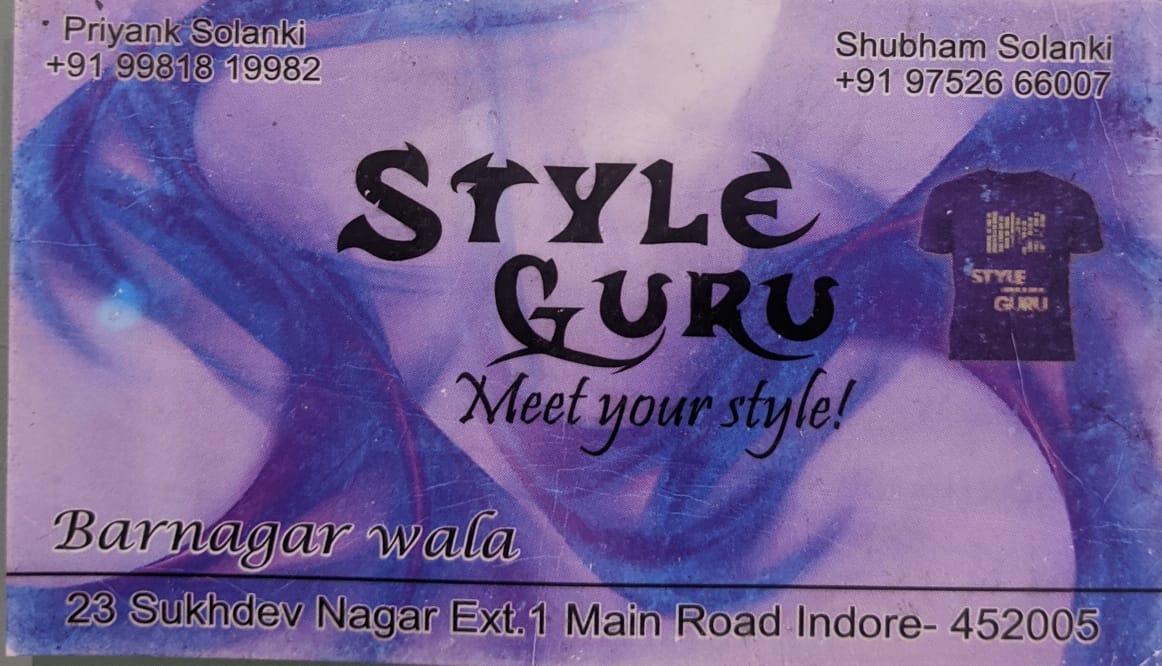 Style guru mens wear