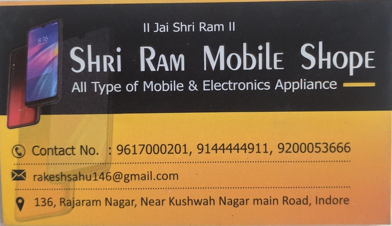 Shri Ram Mobile Shop