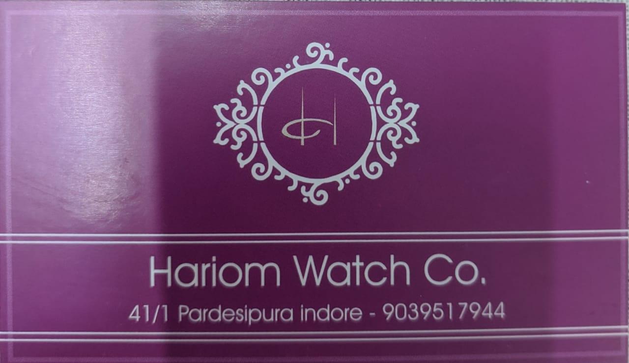 Hariom watch.co