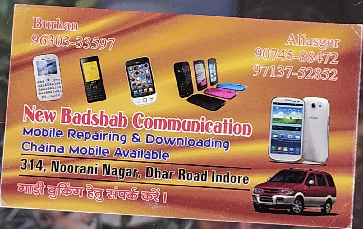 New badshab communication