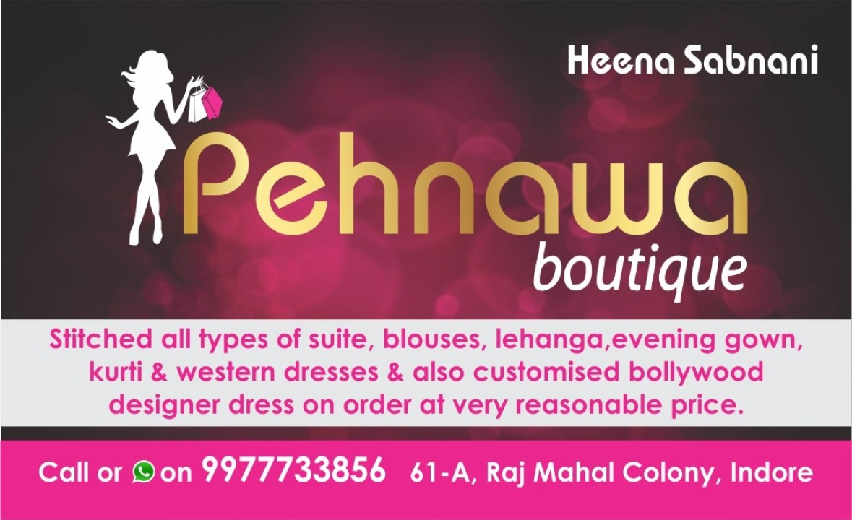 PEHNAWA BOUTIQUE & RENTAL HUB