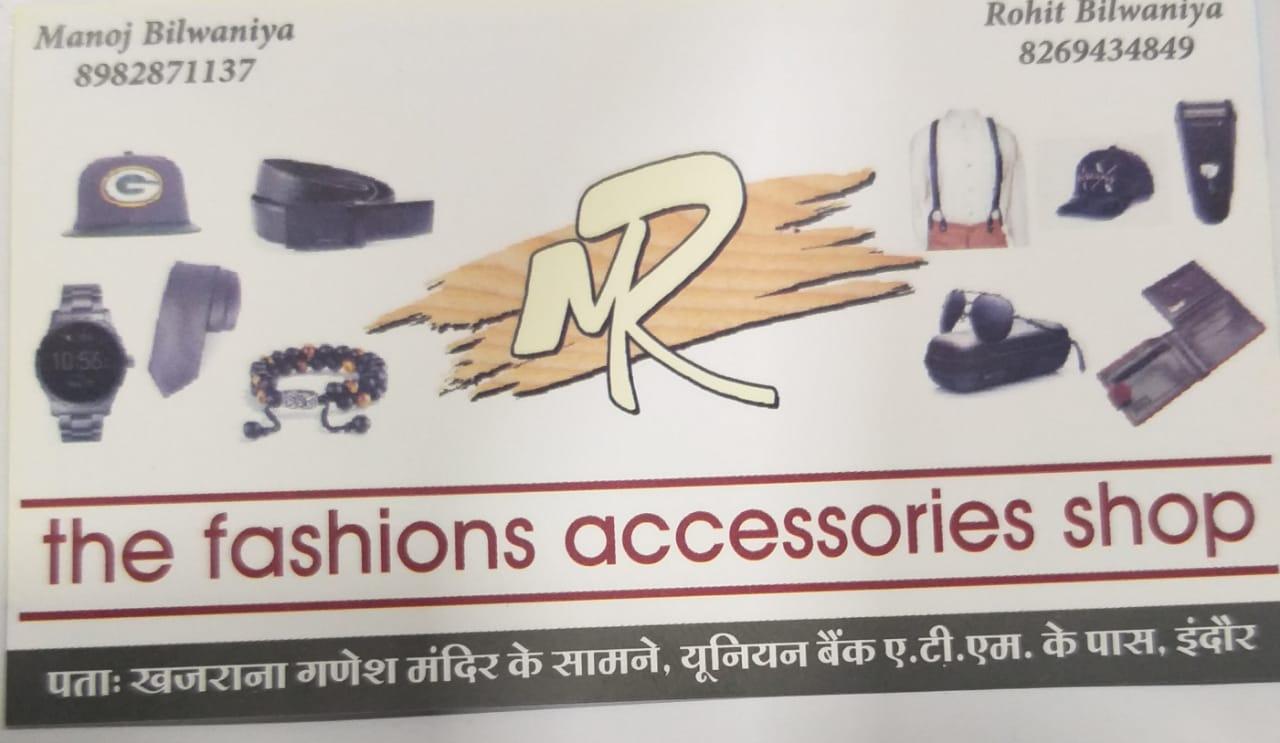 M.R the fashions accessories shop