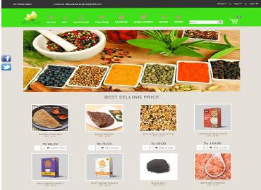 Dhanvantari Store (E-Commerce)