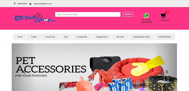 Sai Petshop (E-Commerce)