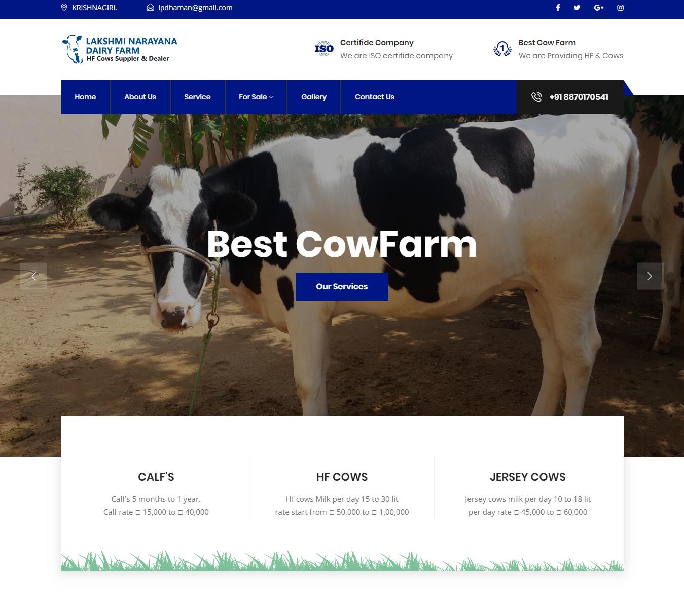Lakshminarayana Dairy Farm