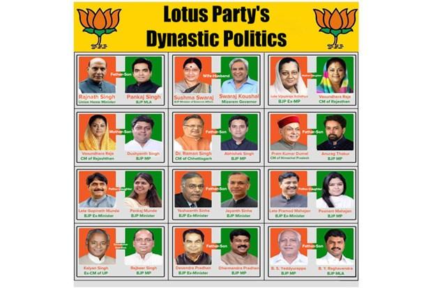 BJP, Scams, Corruption