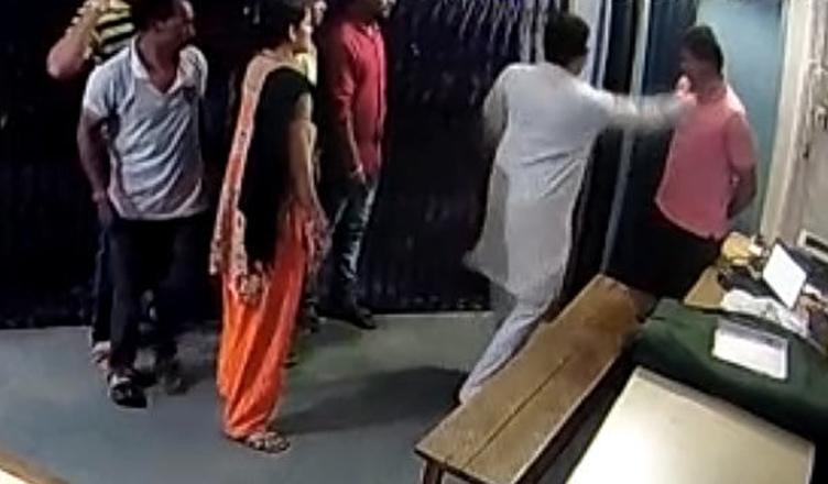 BJP MLA slaps constable