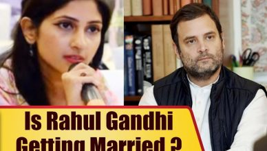 Rahul Gandhi Married