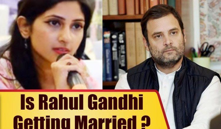 Rahul Gandhi Married