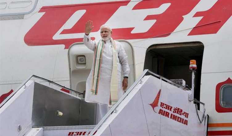 Modi's foreign trips