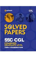 Solved Papers (upto 2015) SSC CGL Combined Graduate Level  Pre. Examination Tier 1
