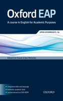 Oxford EAP: Upper-intermediate/B2: Student's Book and DVD-ROM Pack