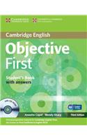 Objective First Student's Book with Answers [With CDROM]