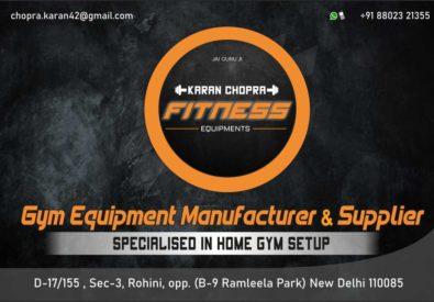 Karan Chopra Fitness...