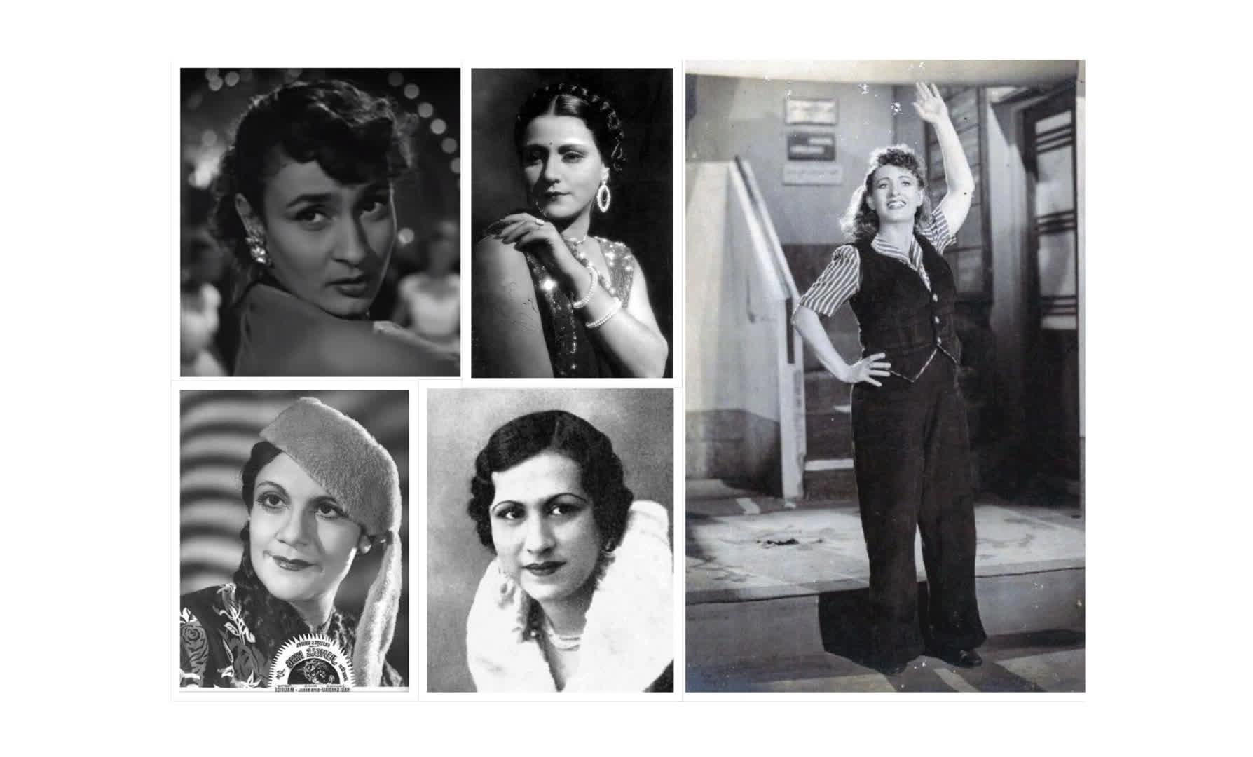 हिंदी सिनेमा की पहली महिलाये