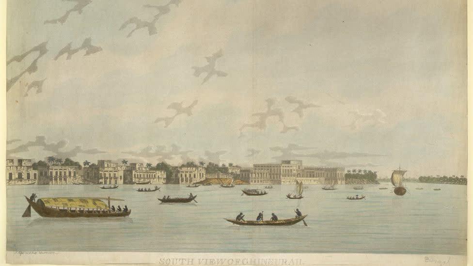 चिनसुराह: बंगाल पर नीदरलैंडस की चाप