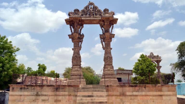 वडनगर के भव्य और ख़ूबसूरत तोरण