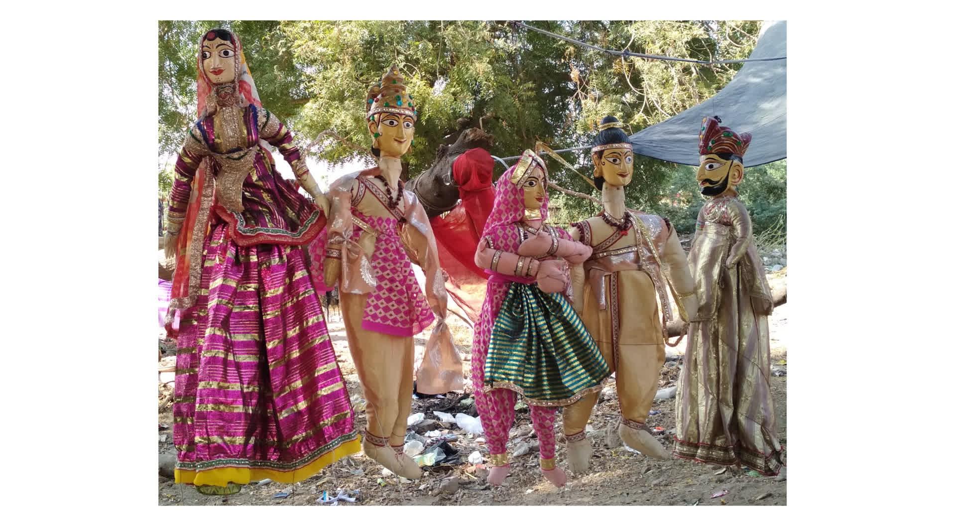 राजस्थान का कठपुतली का खेल