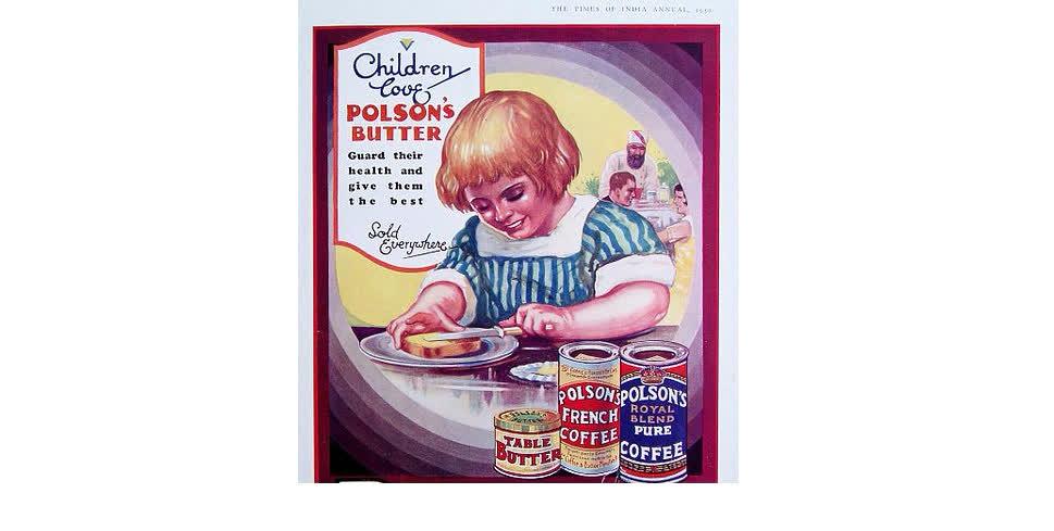 अमूल से पहले पोल्सन मक्खन ही खाया और लगाया जाता था
