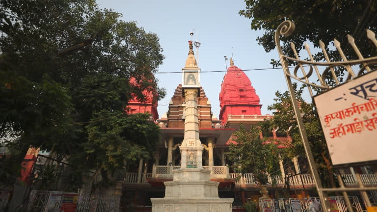 शाहजहानाबाद का जैन मंदिर