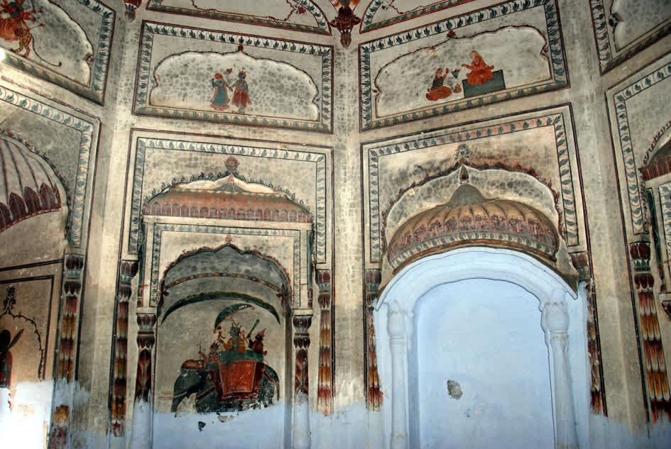 कांगड़ा और मुगल भवन कला का सुमेल 'पंच मंदिर'