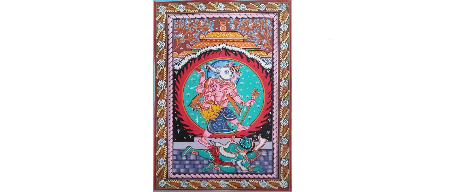 पट्टचित्र- ओडीशा की कला धरोहर