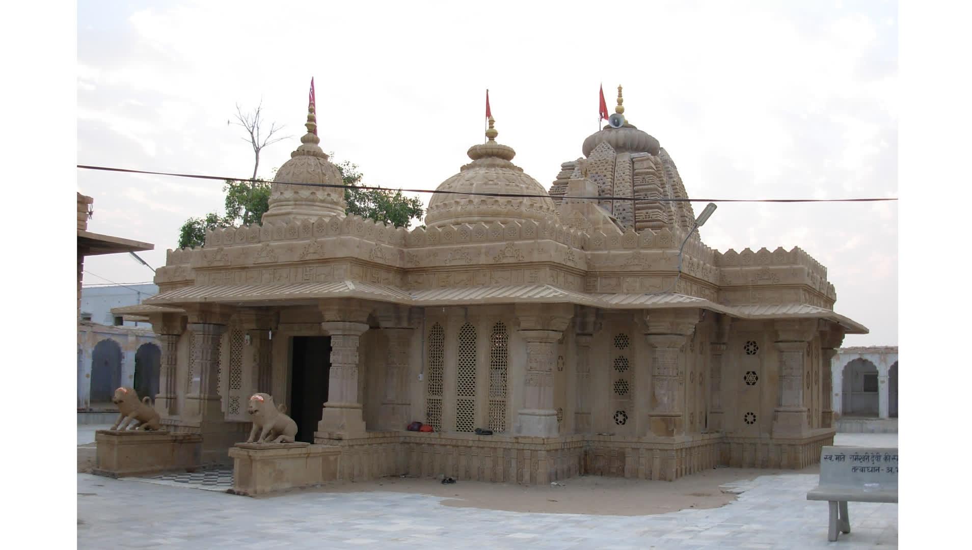 मारवाड़ का मुख्य शक्ति पीठ: दधिमति माताजी मंदिर