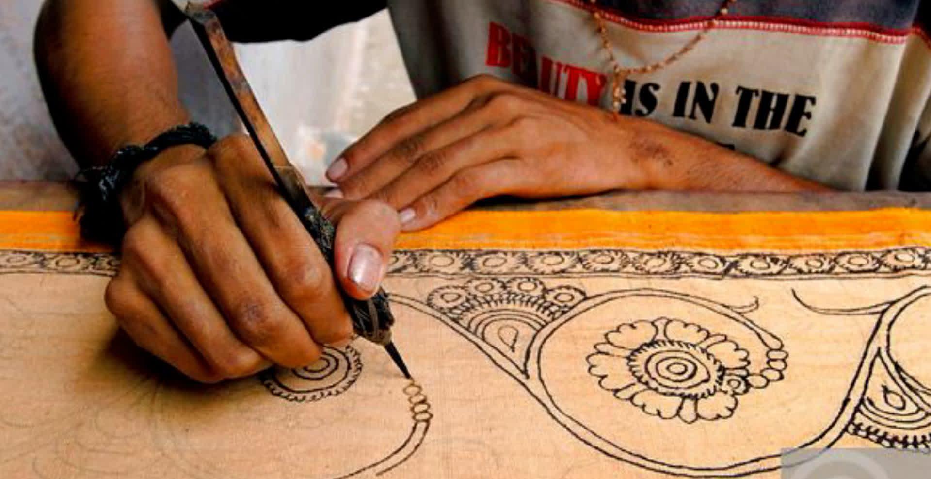 कलमकारी – आंध्र प्रदेश की प्राचीन कला