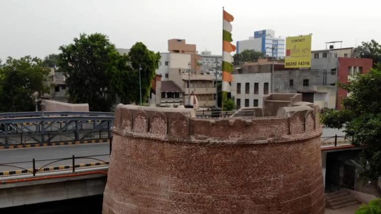 माणेक बुर्ज: अहमदाबाद का संस्थापक स्मारक