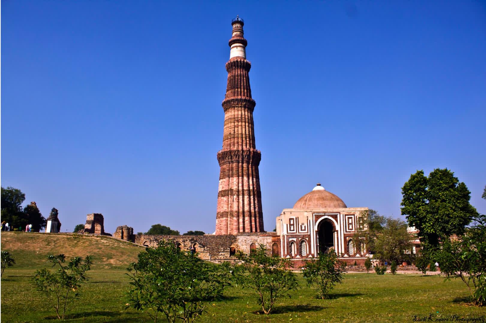 दिल्ली की क़ुतुब मीनार