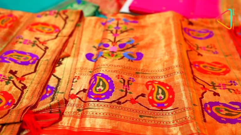 महाराष्ट्र की अनमोल बुनाई – पैठणी
