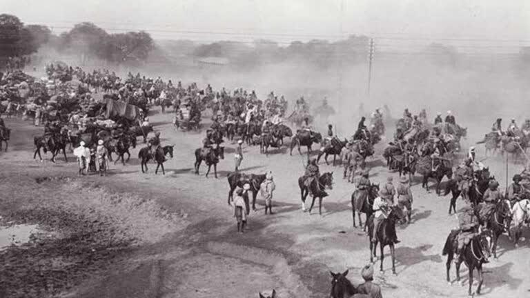ग्रांड ट्रंक रोड का इतिहास