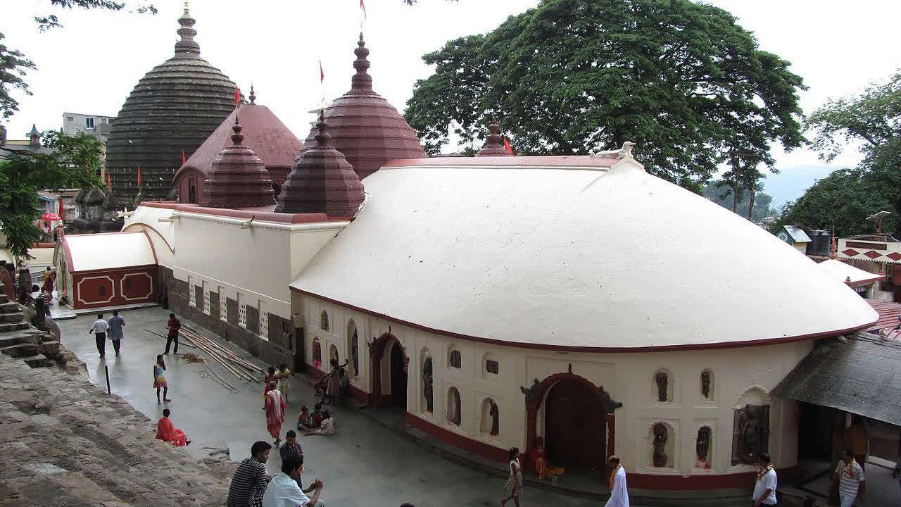 असम का प्रसिद्ध कामाख्या मंदिर