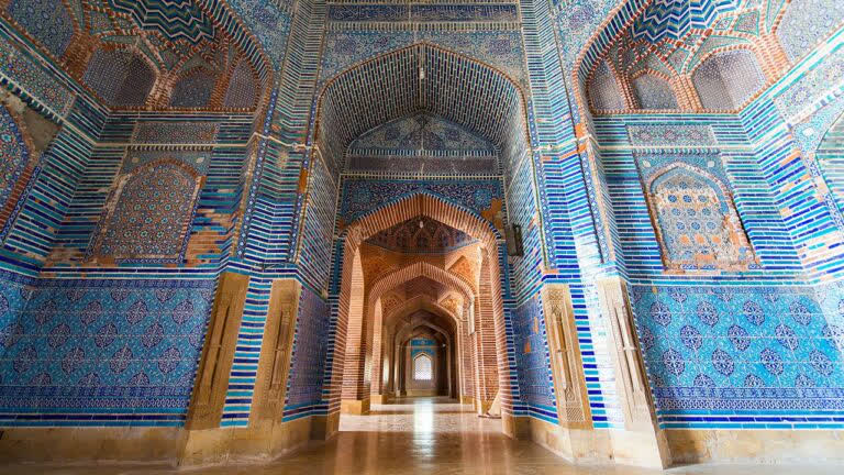 थट्टा की नीली मस्जिद