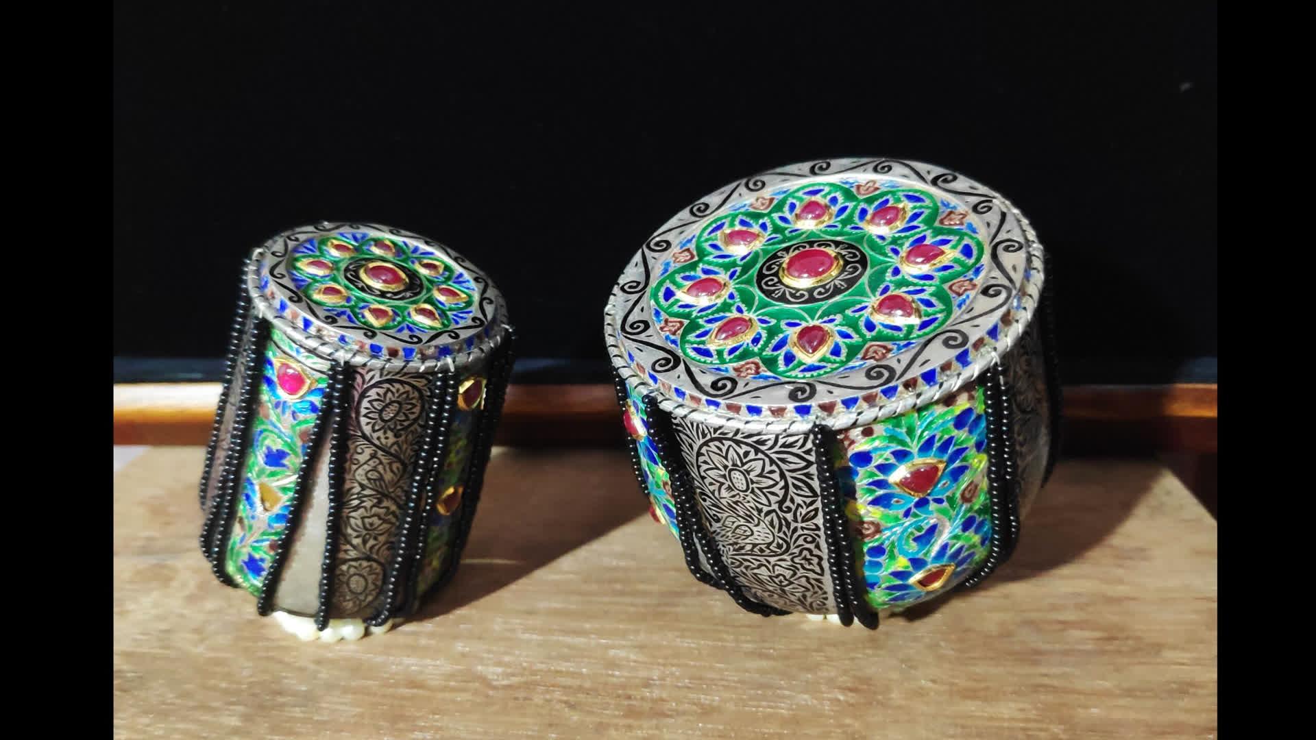 जयपुर की सुंदर मीनाकारी कला