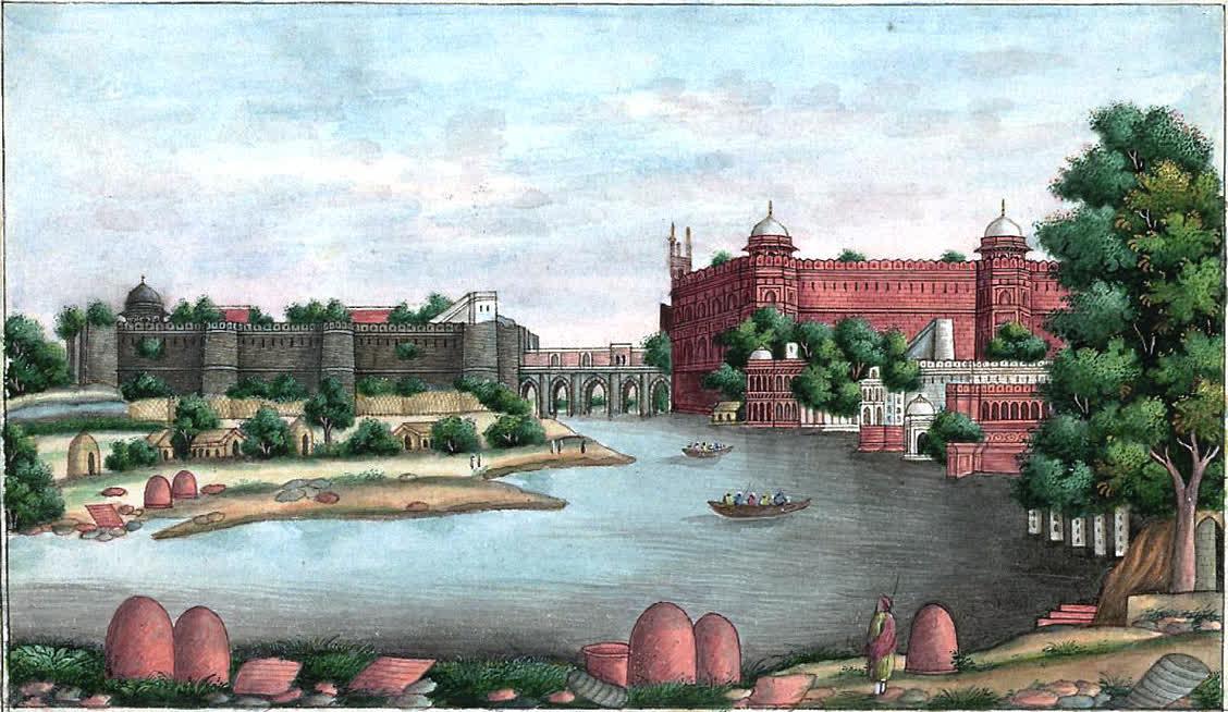 दिल्ली का ऐतिहासिक सलीमगढ़ क़िला
