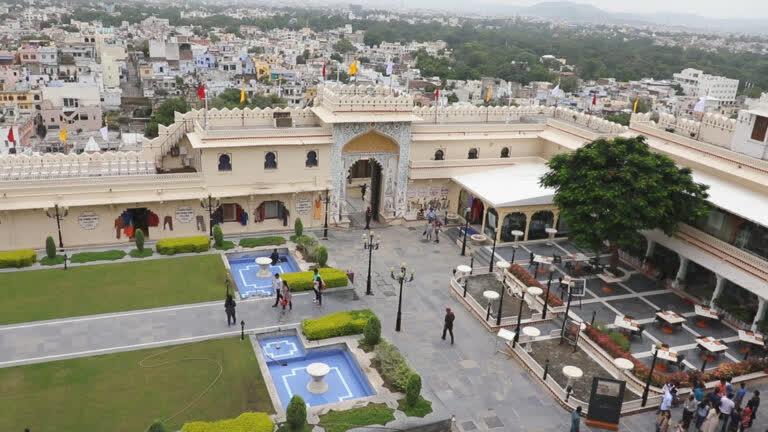 उदयपुर का शानदार सिटी पैलेस