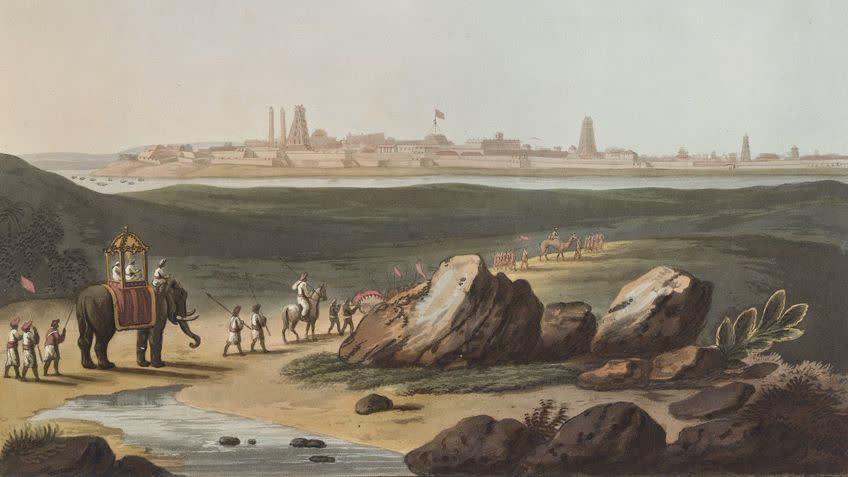 श्रीरंगपटना-टीपू की भूली बिसरी राजधानी
