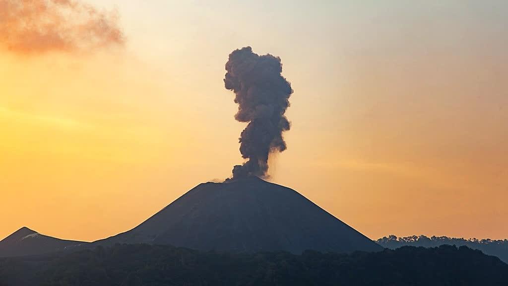 भारत का एकमात्र धधकता ज्वालामुखी