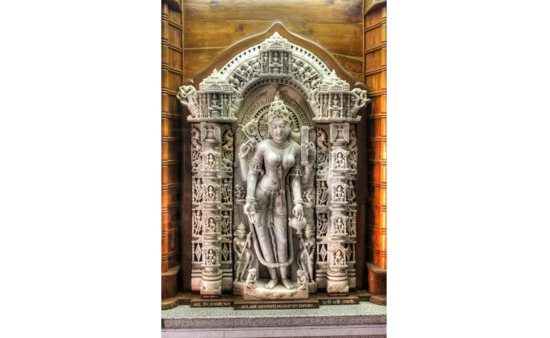 राजस्थान में मिली प्राचीन सरस्वती प्रतिमाएँ