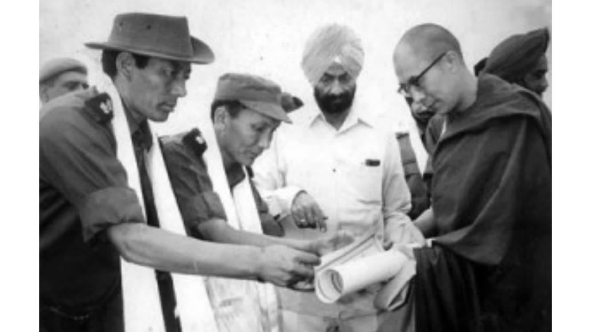 तिब्बती सैनिक भी लड़ते हैं भारत के लिये